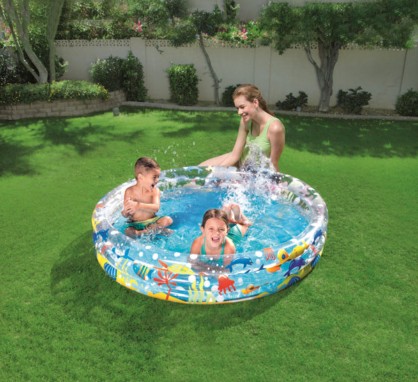 Bestway Φ1.52m x H30cm Deep Dive 3-Ring Pool - BestwayEgypt