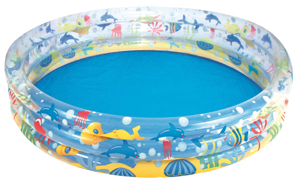 Bestway Φ1.83m x H33cm Deep Dive 3-Ring Pool - BestwayEgypt