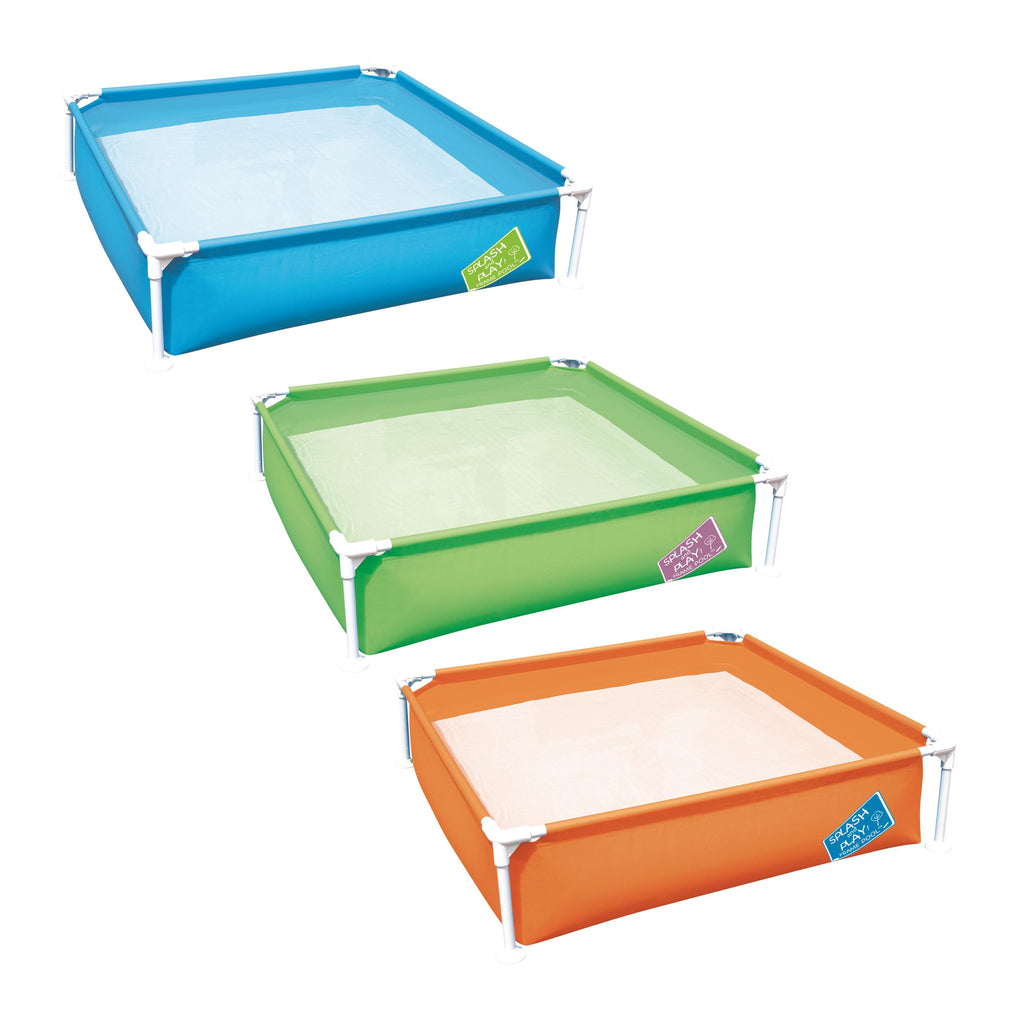 Bestway 1.22m x 1.22m x 30.5cm My First Frame Pool - BestwayEgypt