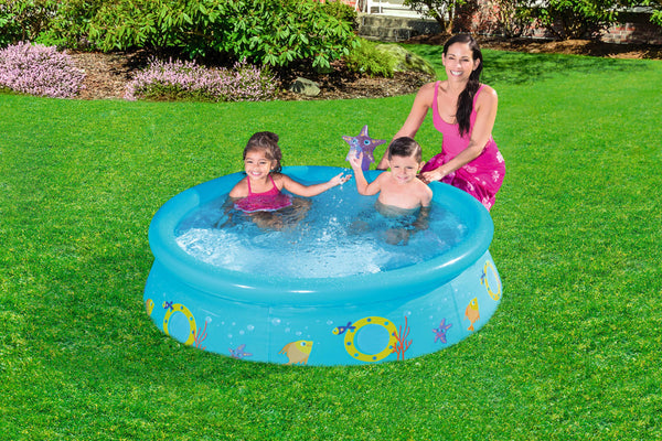 Bestway 1.52m x 38cm My First Fast Set Spray Pool - BestwayEgypt
