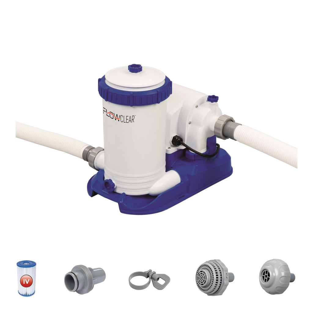 Flowclear 2500gal Filter Pump - BestwayEgypt