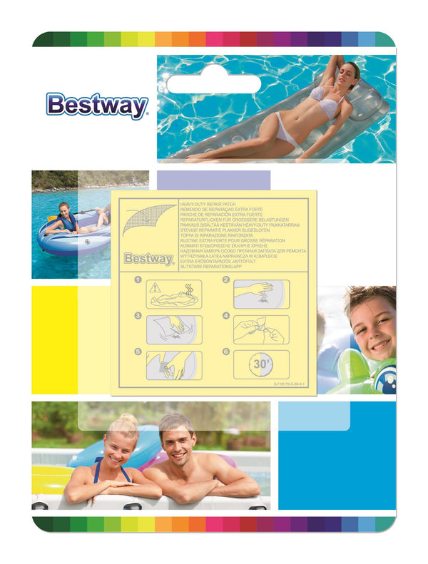 Bestway 6.5cm x 6.5cm Heavy Duty Repair Patch - BestwayEgypt