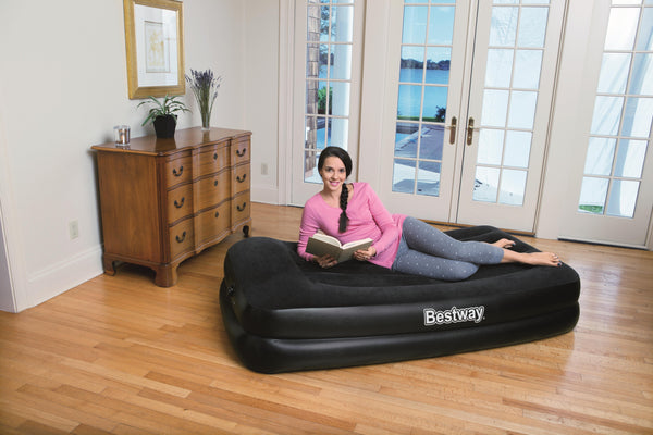 Bestway 1.91m x 97cm x 46cm Tritech Airbed Twin Built-in AC pump - BestwayEgypt
