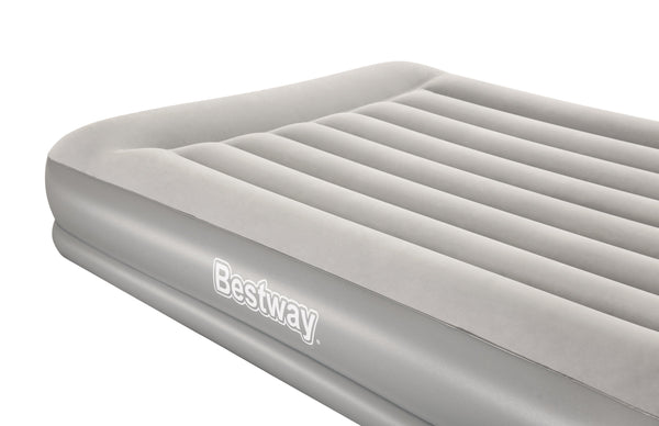 Bestway 2.03m x 1.52m x 38cm Tritech Airbed Queen Built-in AC Pump - BestwayEgypt