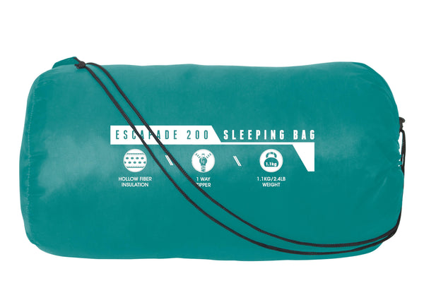 Pavillo (1.85m + 35cm) x 75cm Escapade 200 Sleeping Bag - BestwayEgypt