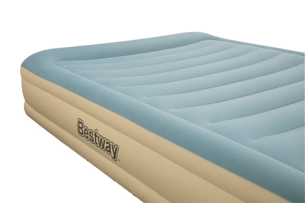 Bestway 2.03m x 1.52m x 36cm Fortech Airbed Queen Built-in AC Pump - BestwayEgypt