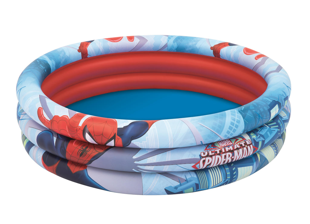 Spider-Man Φ1.22m x H30cm 3-Ring Pool - BestwayEgypt