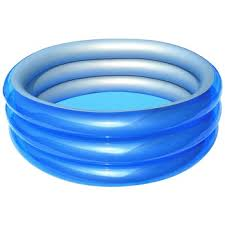 Bestway Φ1.50m x H53cm Big Metallic 3-Ring Pool - BestwayEgypt