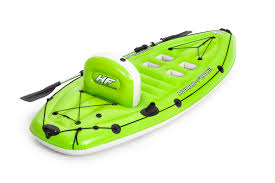 Hydro-Force Inflatable Fishing Boat with Paddle, 270 x 100 x 57 cm