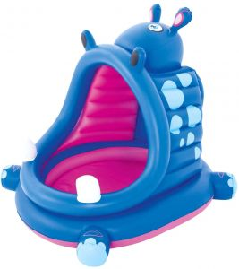 Covered Hippo Baby Pool 1.12m x 99cm x97cm - BestwayEgypt