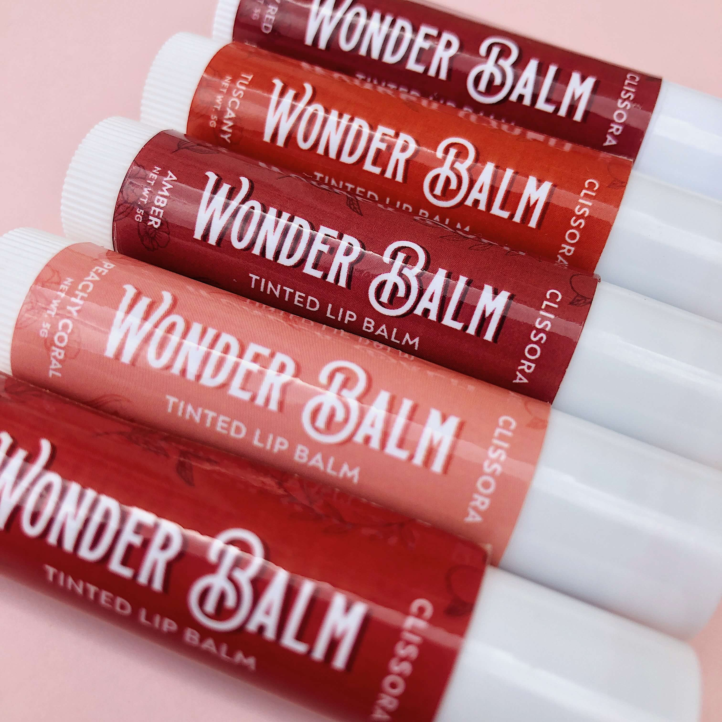 Wonder Balm Tinted Lip Balm - SET
