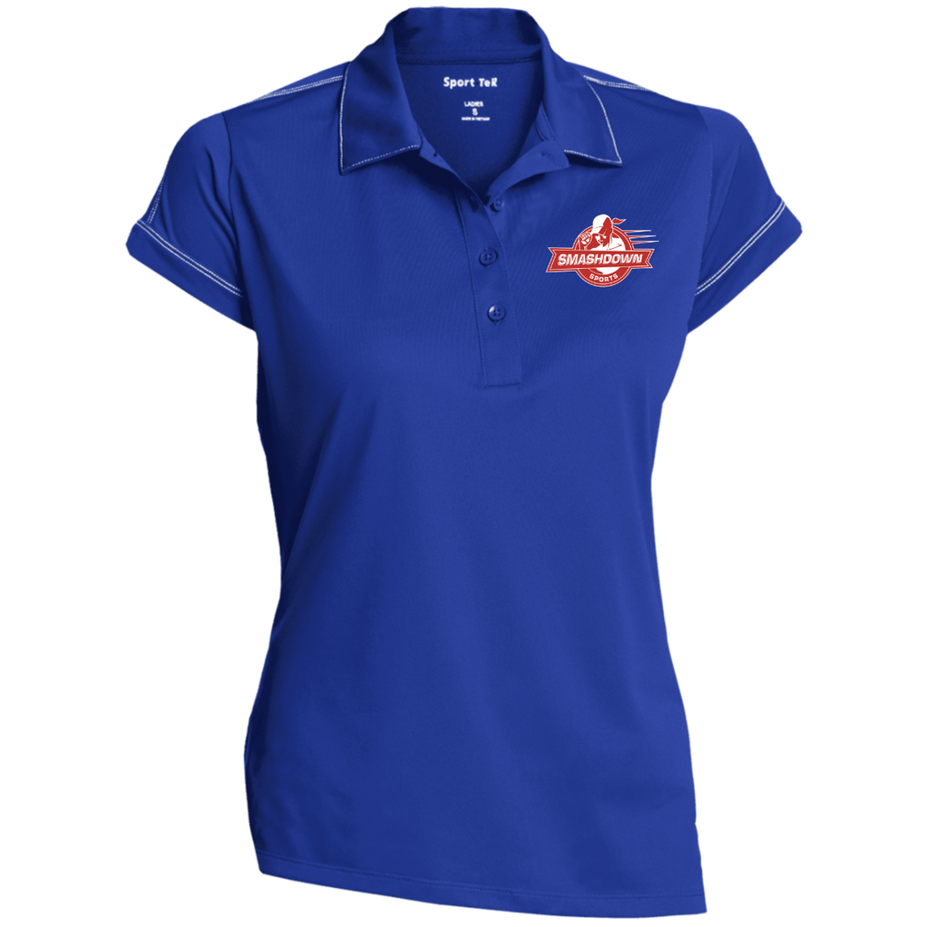 LST659 Sport-Tek Ladies' Contrast Stitch Performance Polo