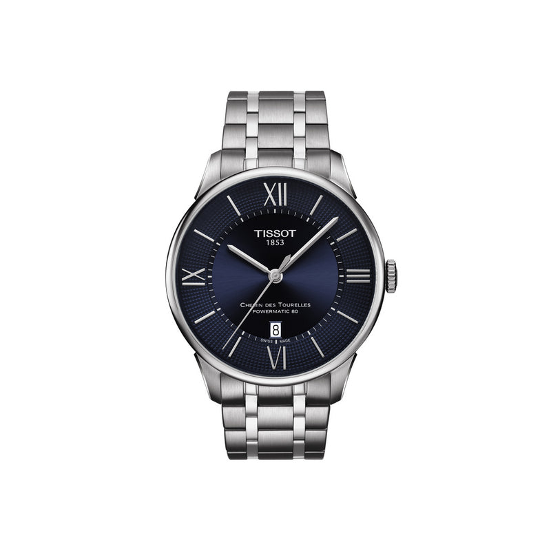 Tissot Chemin des Tourelles Powermatic 80 - Duffs Jewellers