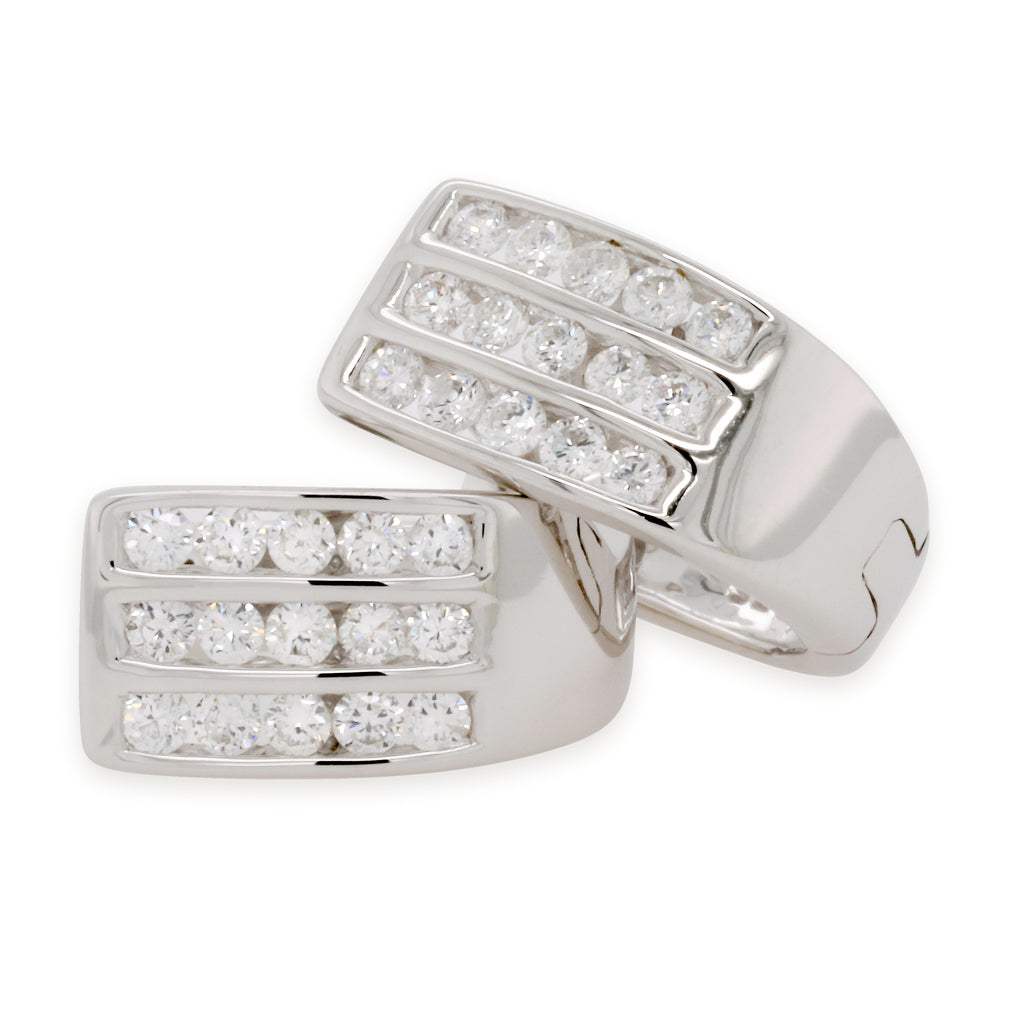 Diamond Huggie Earrings 0.33ct