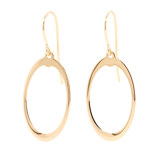 9ct Yellow Gold Drop Earrings - Duffs Jewellers