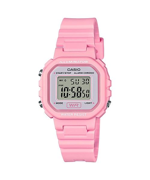 Casio Youth Pink Resin Digital Watch LA20WH-4A1
