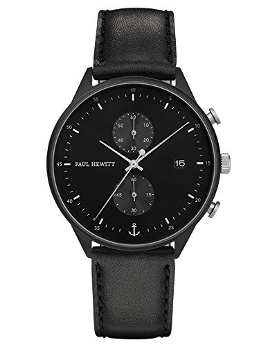 Paul Hewitt Chrono Black Sunray Watch