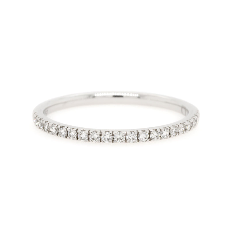 18ct White Gold Diamond Wedding Ring TDW = 0.21ct - Duffs Jewellers