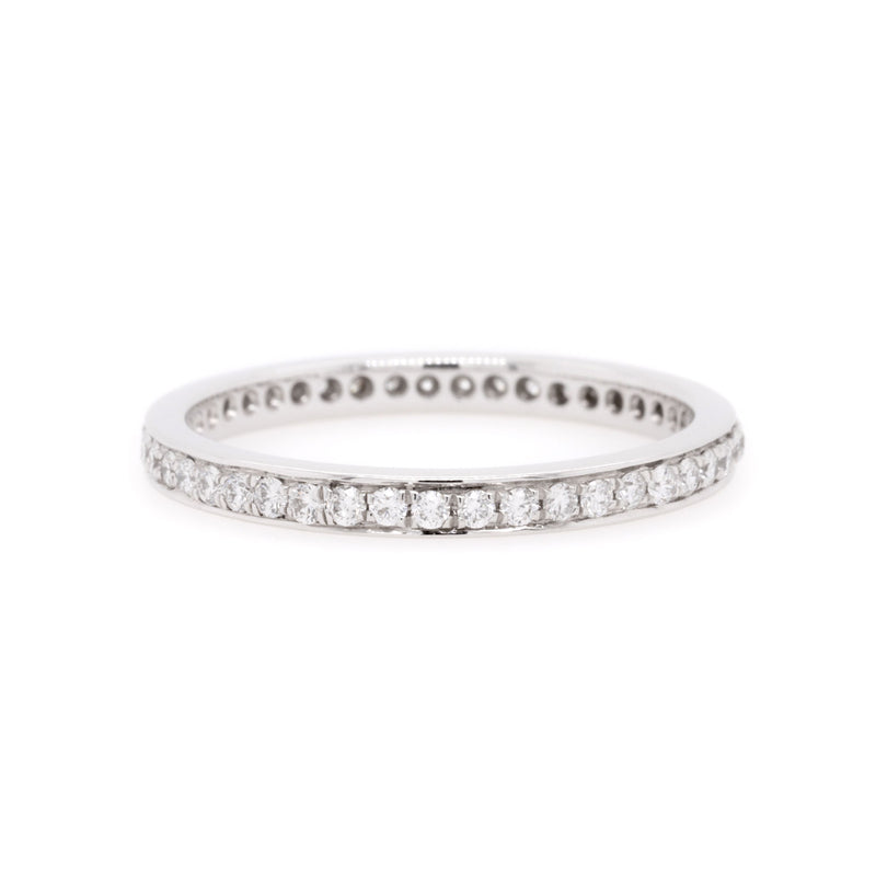 18ct White Gold Diamond Wedding Ring TDW = 0.45ct - Duffs Jewellers