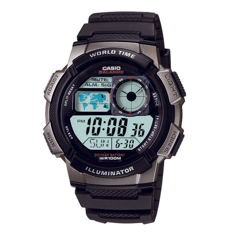 Casio World Time Men's Watch AE1000W-1B