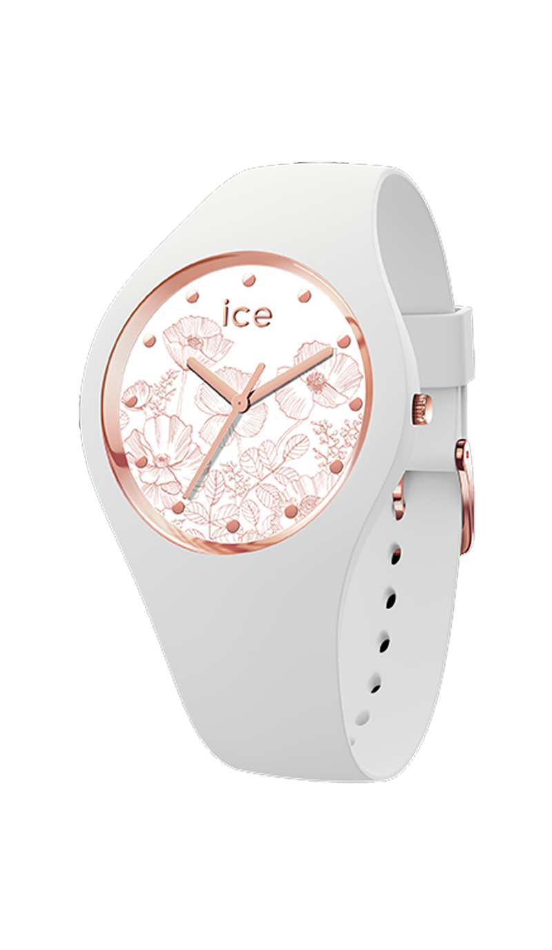 ICE flower - Spring white - Medium