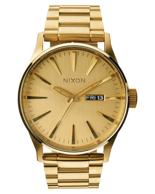 NIXON Sentry Stainless Steel | All Gold / Gold / Black - Duffs Jewellers