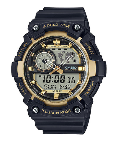 Casio Analogue Digital Watch AEQ200W-9A