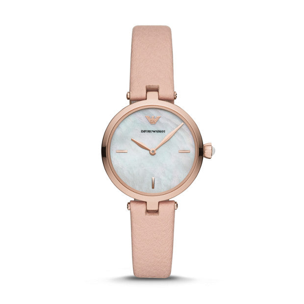 Emporio Armani Nude Analogue Watch - Duffs Jewellers