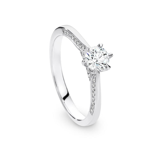 Jessica Engagment Ring - Duffs Jewellers