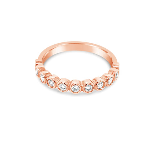 Bezel set diamond ring - Duffs Jewellers