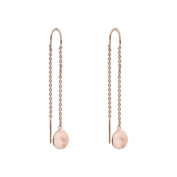 Najo Double Beat Thread Earring Rose - Duffs Jewellers