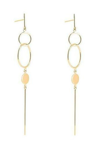 Najo Chant Earrings (Gold Plated)