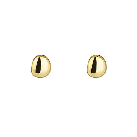 Najo Piedra Stud Earrings (Gold Plated)