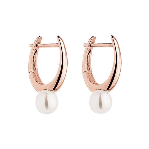 Najo Humility Rose Pearl Earring - Duffs Jewellers