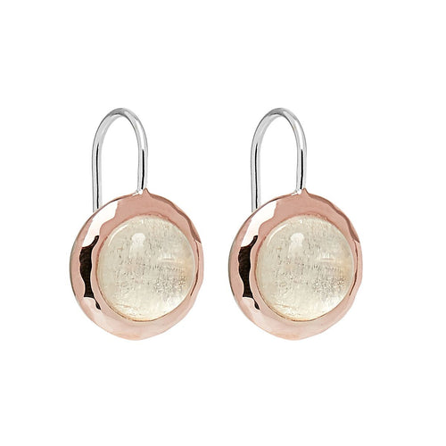 Najo Dover Earring Moonstone - Duffs Jewellers