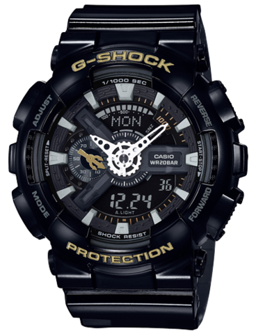 G-SHOCK DUO CHRONO GA110SLV-1A
