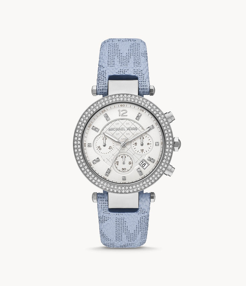 Parker Blue Chronograph Watch MK6936
