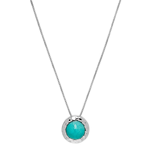 Najo Dover Necklace Amazonite - Duffs Jewellers