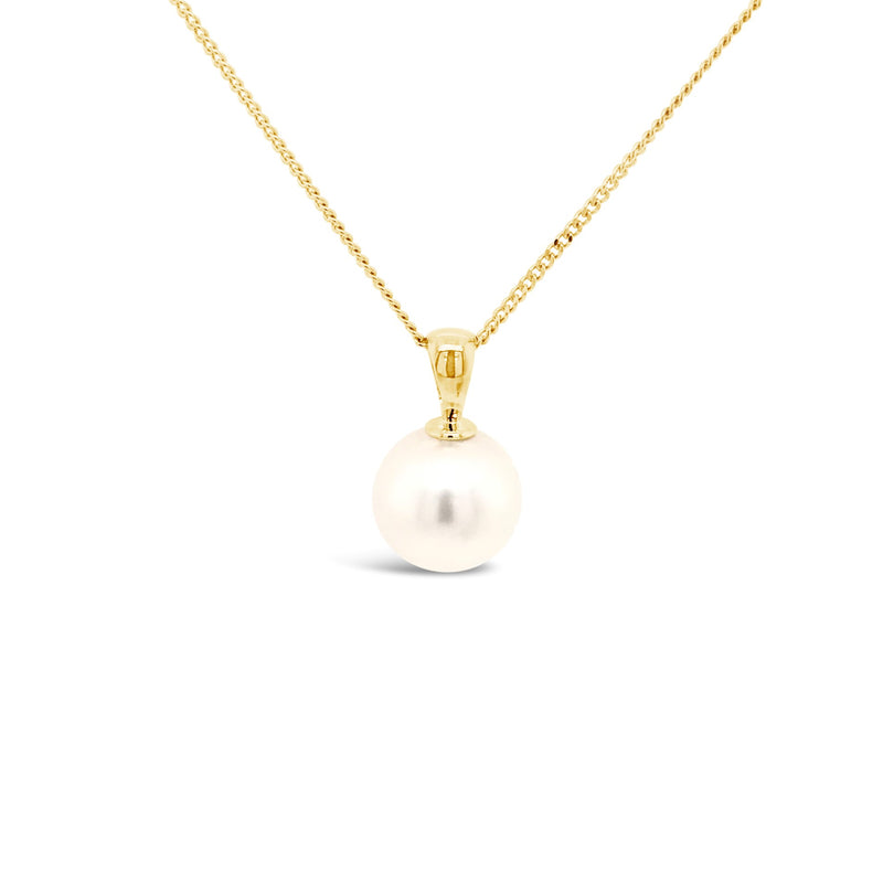 Yellow gold South Seas Pearl pendant