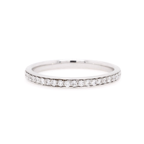 18ct White Gold Diamond Wedding Ring TDW = 0.22ct - Duffs Jewellers