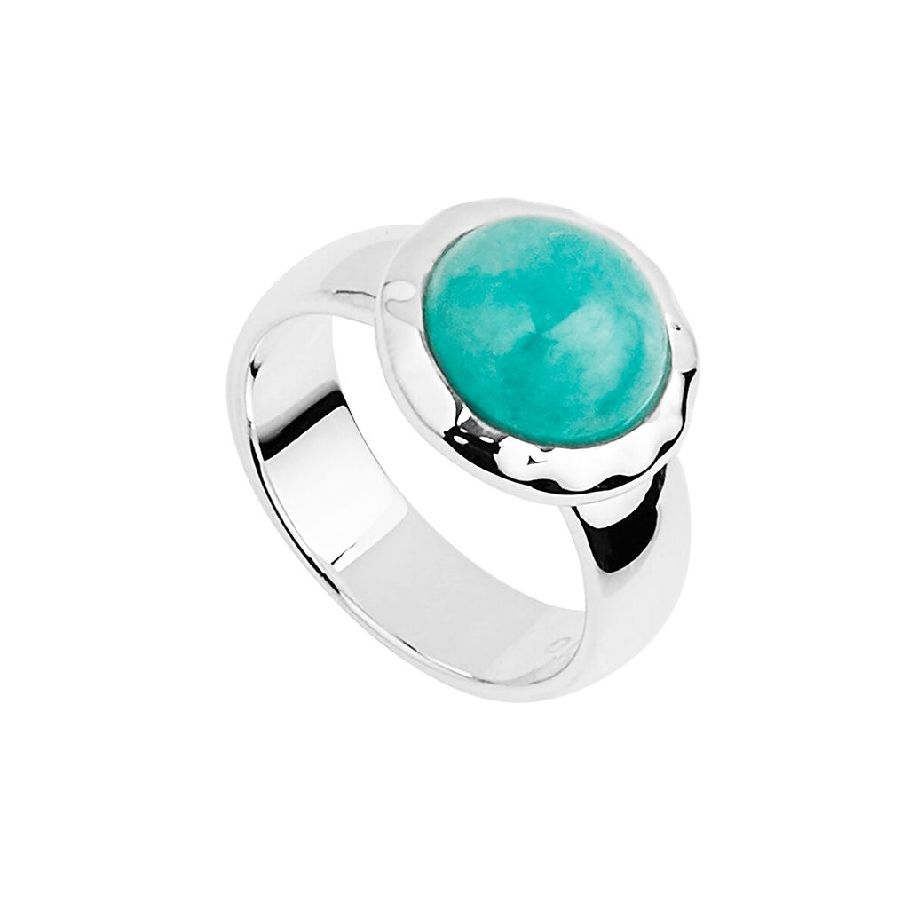 Najo Dover Ring Amazonite - Duffs Jewellers
