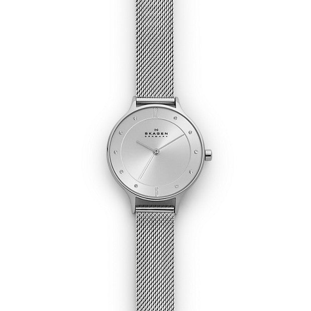 Skagen Anita Silver-Tone Analogue Watch - Duffs Jewellers