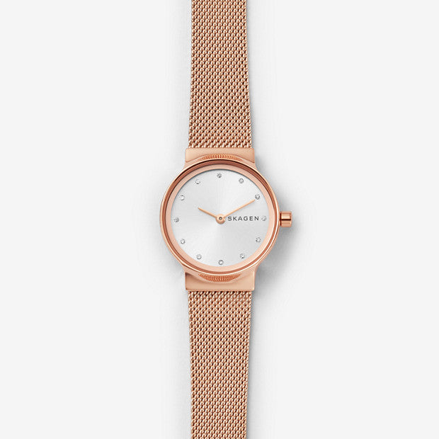 Skagen Freja Rose Gold-Tone Analogue Watch - Duffs Jewellers