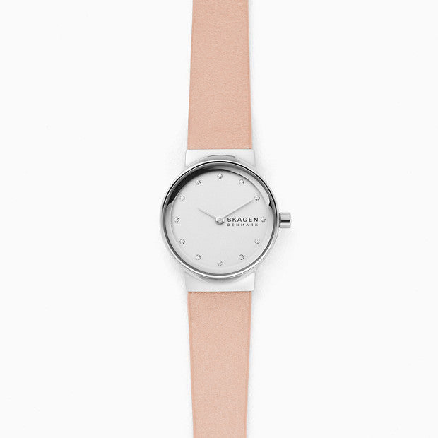 Skagen Freja Pink Analogue Watch - Duffs Jewellers