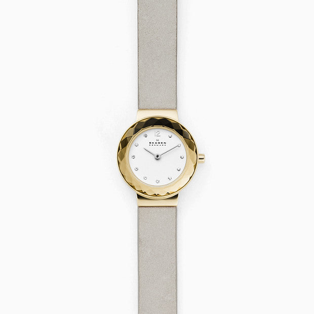 Skagen Leonora Silver-Tone Analogue Watch - Duffs Jewellers