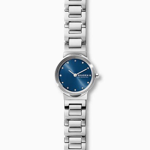 Skagen Freja Silver-Tone Analogue Watch