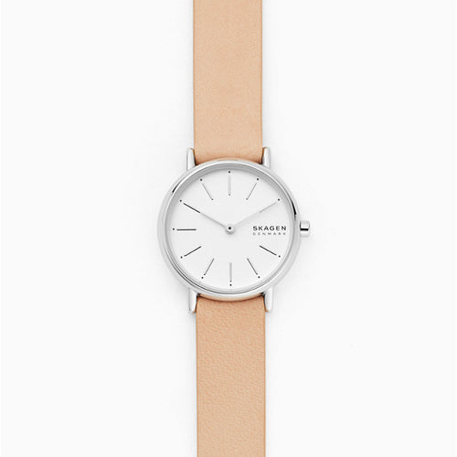 Skagen Signatur Pink Analogue Watch - Duffs Jewellers