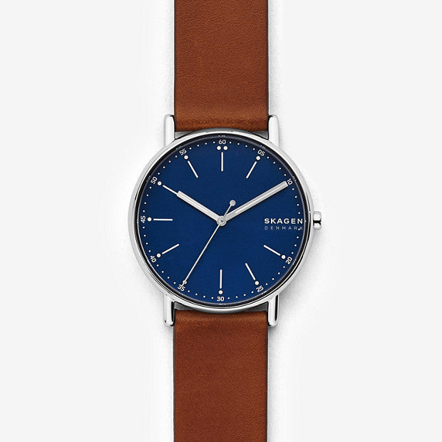 Skagen Signatur Brown Analogue Watch - Duffs Jewellers