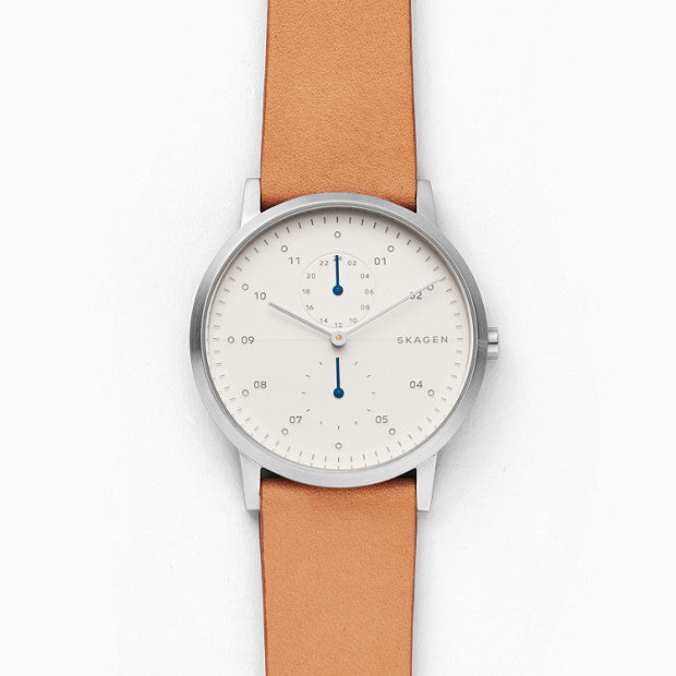 Skagen Kristoffer Brown Analogue Watch - Duffs Jewellers