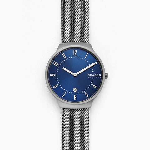 Skagen Grenen Silver-Tone Analogue Watch